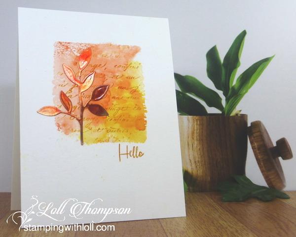 Copper Leaf Hello