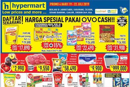 Promo Katalog Hypermart JSM Weekend 19 - 22 Juli 2019