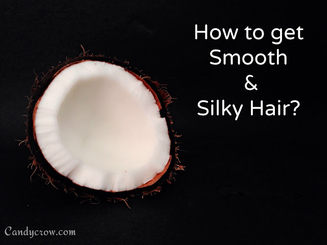 How to get Silky and Smooth Hair at Home?, coconut milk mask, coconut milk nair care