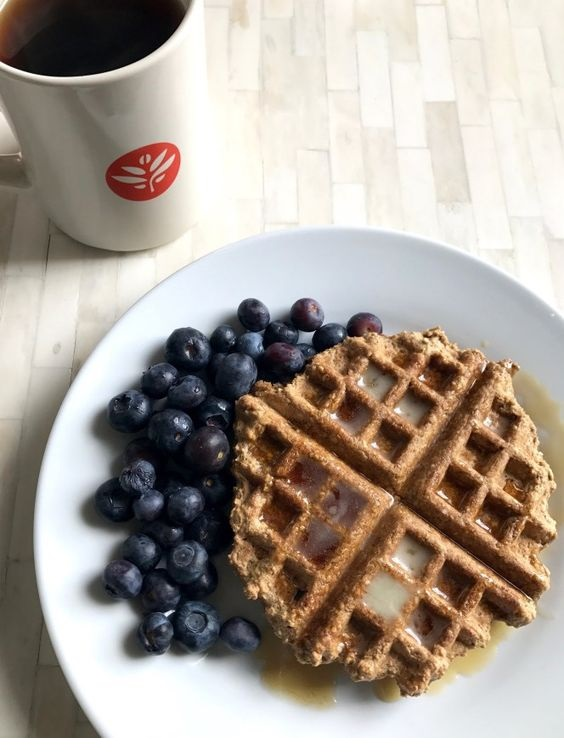 The Easiest Whole Grain Waffles Ever