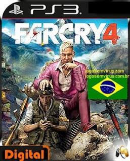 Baixar Far Cry 4 PS3 Grátis Português Pt-Br ISO Torrent 2014