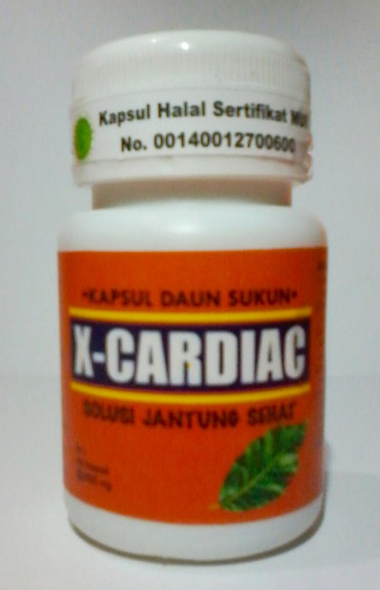 Kapsul Daun Sukun Herbal penyakit Jantung dan Fungsi Ginjal