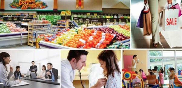 Hệ thống siêu thị nhà trẻ phục vụ cư dân hh4 linh đàm