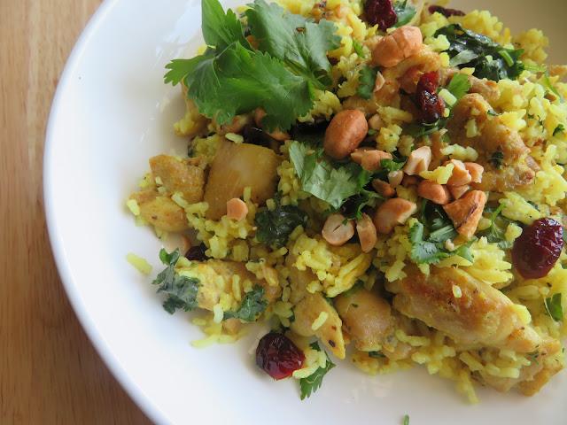 Curried Chicken & Rice