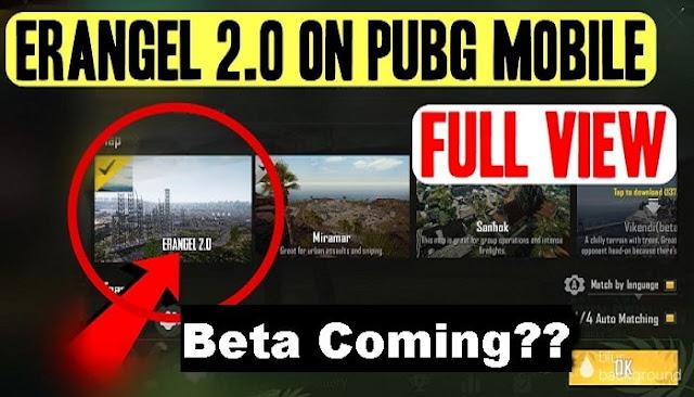 PUBG Mobile, Erangel 2.0