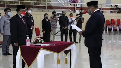Gubernur Olly Kukuhkan Beligan Sembiring Sebagai Kepala Perwakilan BPKP Sulut