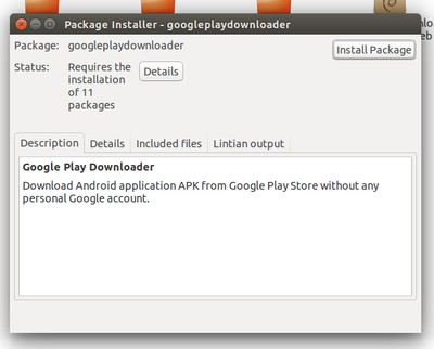 How to Download APK Files From Google Play Store in Ubuntu