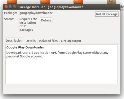 Trik mendownload APK file dari PlayStore ke komputer  Tutorial Download File APK Dari Google Play Store di Ubuntu Linux