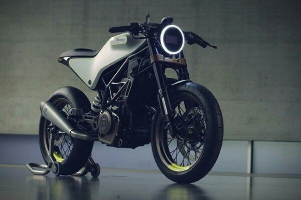 Husqvarna 401 White Arrow, Cafe racer from the future