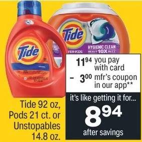 Tide PODS Liquid Laundry Detergen