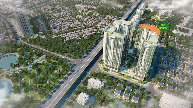 Phối cảnh dự án Eco-green city