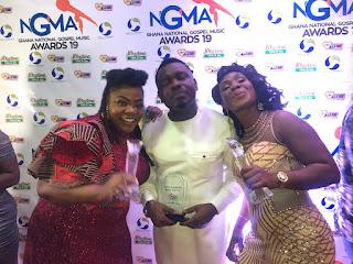 2019 Ghana National Gospel Music Awards -Full List Of Winners