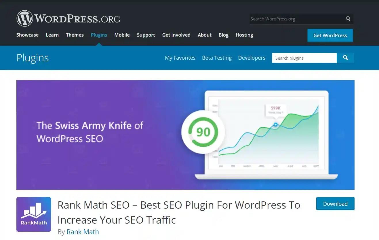 Rank Math SEO - Best SEO Plugin For WordPress To Increase Your SEO Traffic