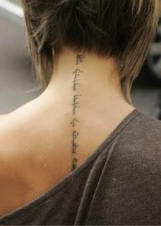 Tatuajes Femeninos Para Cuello Y Nuca Belagoria La Web De Los