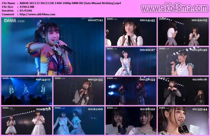 AKB48 201115 SS12 LOD 1400 1080p