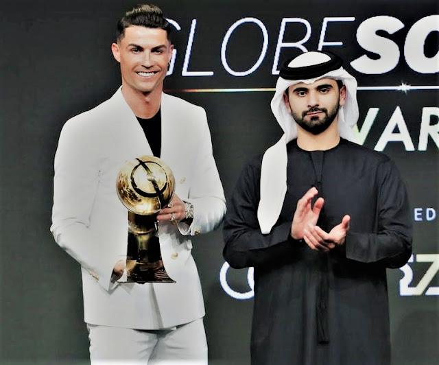 Sports: Cristiano Ronaldo, Lucy Bronze And Jurgen Klopp Bags Award At Dubai Globe Soccer Awards