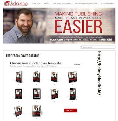 Cara membuat cover buku dengan mudahc