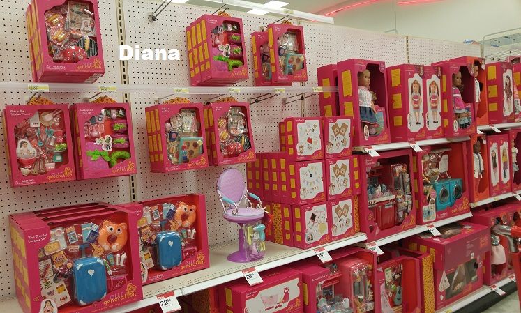 our generation salon chair guidecraft media desk set living a doll's life : *in store report* og event - target