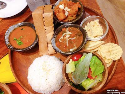 印度塔麗(3種咖喱)
