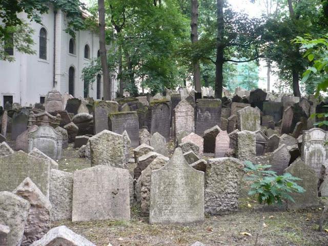 vecchio cimitero ebraico praga