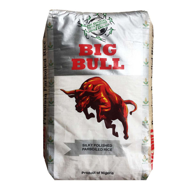 Big Bull Premium Parboiled Rice 50kg