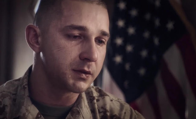 "Shia LaBeouf no trailer do drama militar ""Man Down"", com Gary Oldman e Kate Mara"
