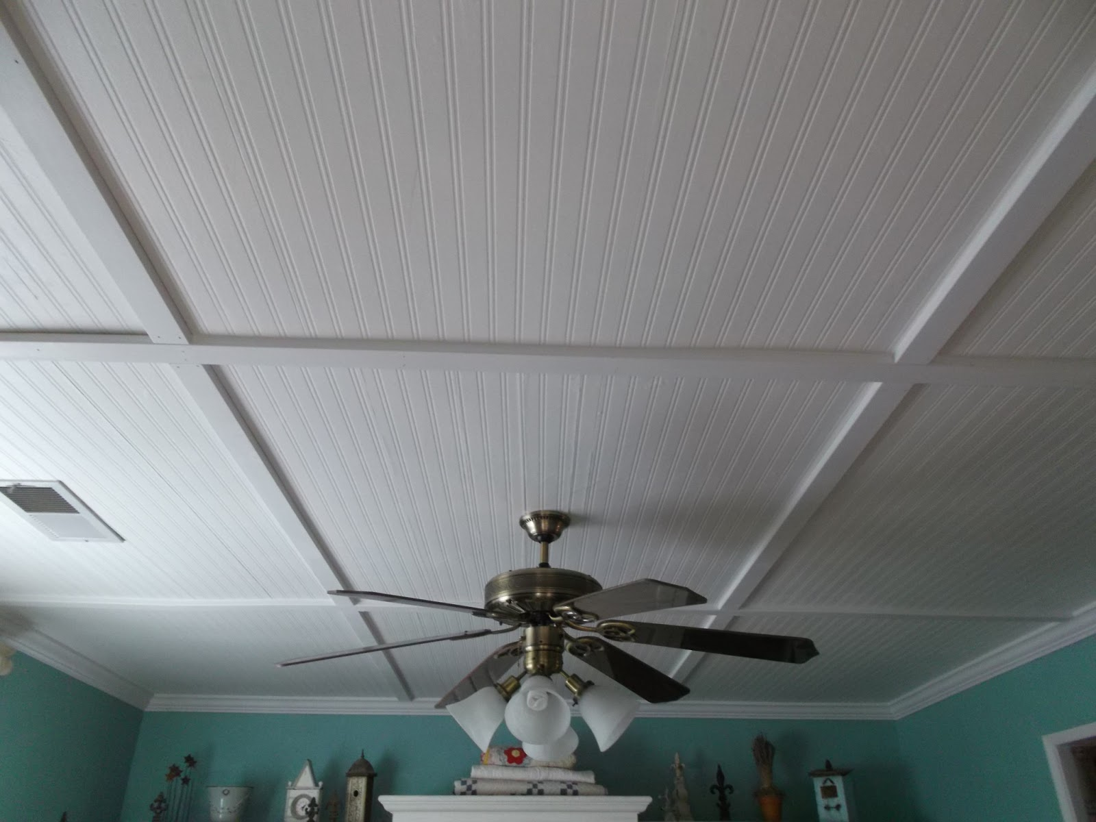 beadboard wallpaper ceiling