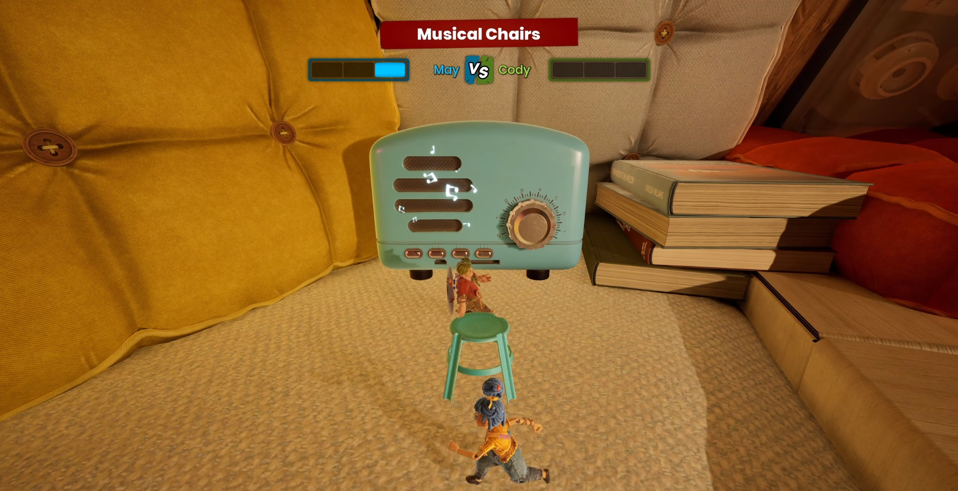 """Mini-game number 23 """"Musical chair"""""""