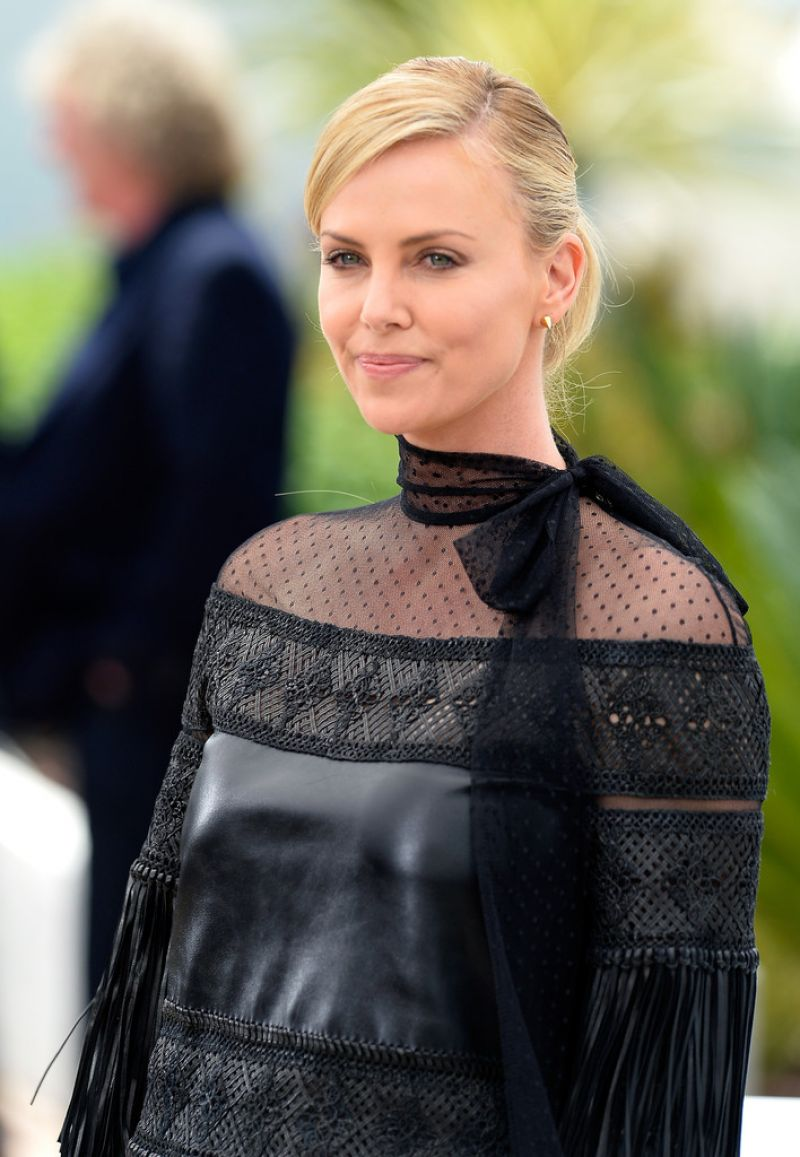 Full HQ Photos of Charlize Theron Mad Max Fury Road Photocall In Cannes