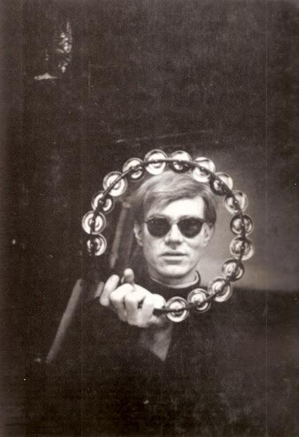 Tambourine Andy Warhol's