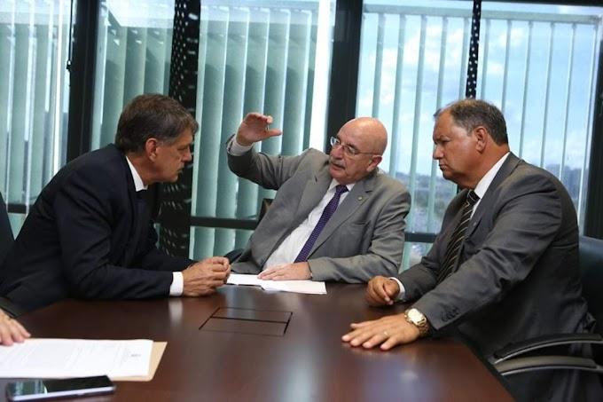 BRASÍLIA | Maurício e Alceu Moreira conseguem R$ 1.8 milhão para conclusão da praça CEU no bairro Anair