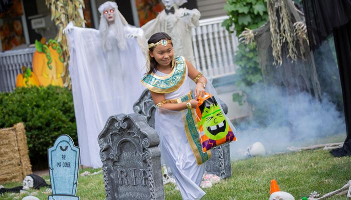 Halloween Candy Graveyard
