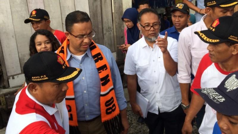 Anies Baswedan dan Bambang Widjojanto