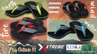 Sandal Pria , Sandal Xtreme, Sandal Laki Laki