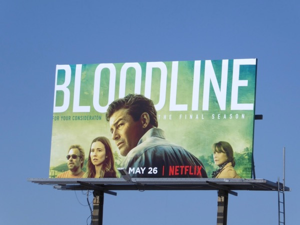 Bloodline season 3 Netflix billboard
