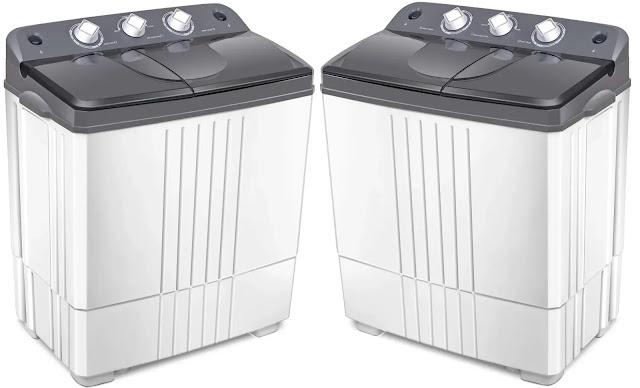 8- COSTWAY Portable Washing Machine