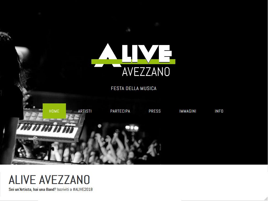 Alive Avezzano - Festa della Musica