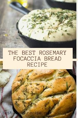THE BEST ROSEMARY FOCACCIA BREAD RECIPE