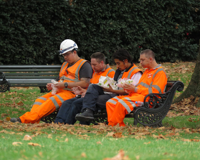 Lunch Break, Green Park, London