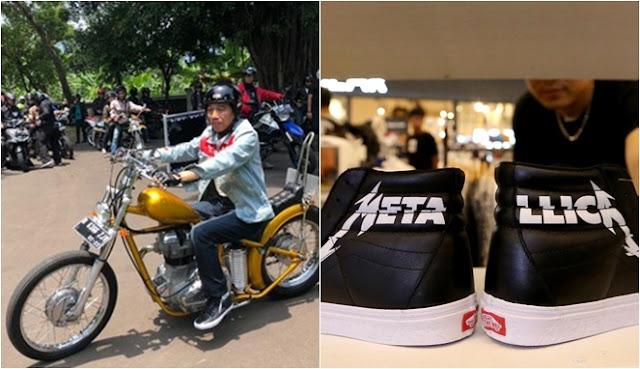 Sepatu Vans x Metallica SK8-HI Reissue