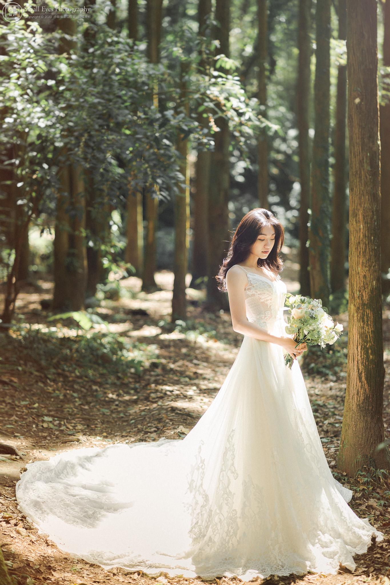 小眼攝影,婚紗攝影,婚攝,吉兒婚紗,新秘瓜瓜,自助婚紗,自主婚紗,台灣,台北,陽明山,森林,仙女