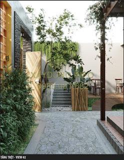 thiết kế quán cà phê thực hiện bởi xaydung.info
