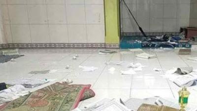 Geger, Warga Temukan Al-Qur'an Robek Berserakan di Musala