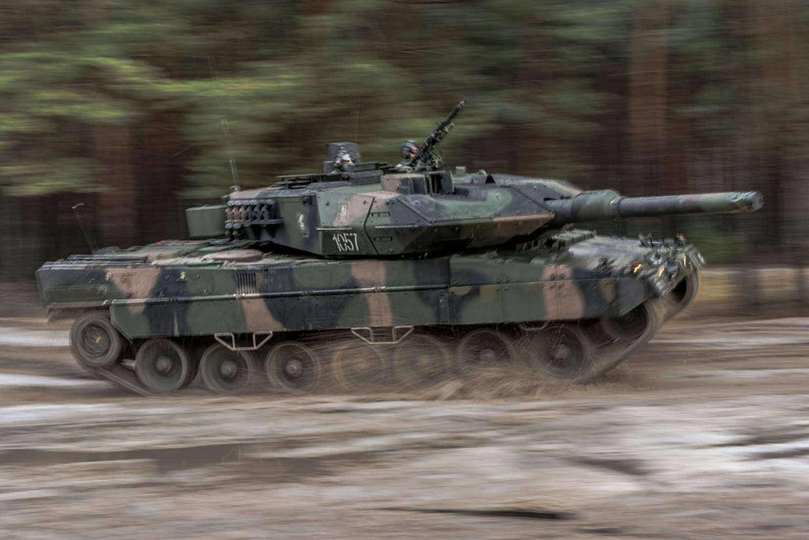 Czech army interested in acquiring Leopard 2A4 tanks in Spain 2
