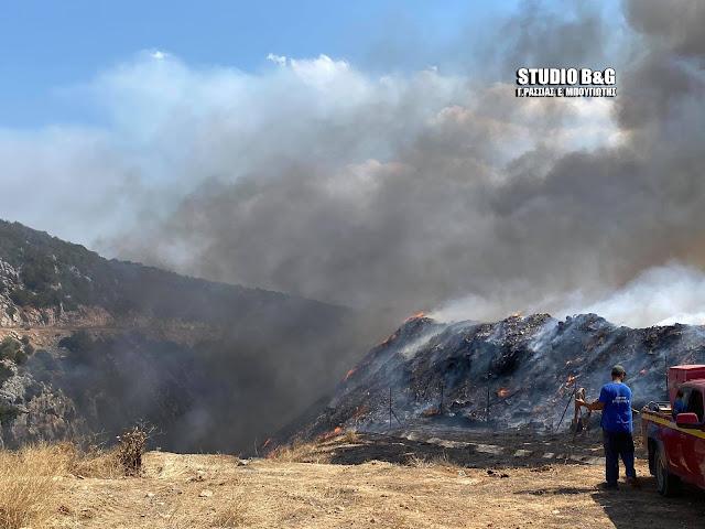 Καλύτερη εικόνα από τα πύρινα μέτωπα σε Αργολίδα και Κορινθία - Παραμένουν ισχυρές πυροσβεστικές δυνάμεις