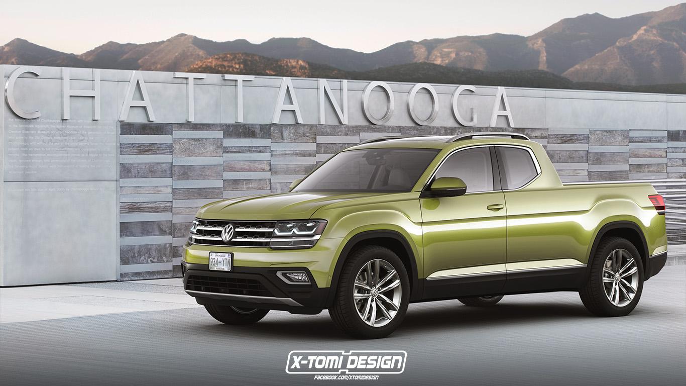 X Tomi Design Volkswagen Atlas Pickup