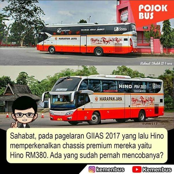 Chassis Premium Hino RM 380