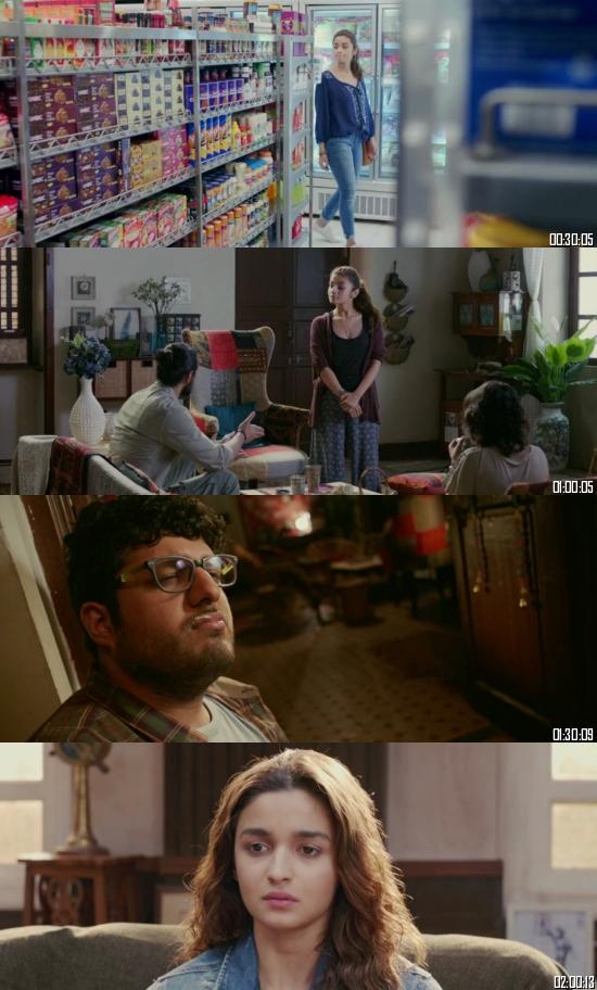 Dear Zindagi 2016 Hindi 720p 480p BluRay x264 Full Movie Download