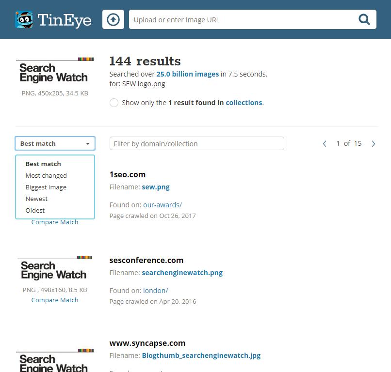 TinEye - Oh My!