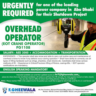 Overhead Operator Shutdown Project
